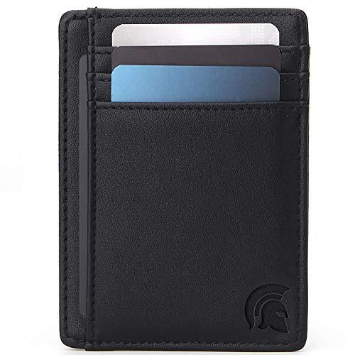 La delgada cartera con bloqueo de RFID de POWR® fabricada a medida mantendrá sus tarjetas y su dinero a salvo. Rigurosas evaluaciones han demostrado que la cartera es 100% efectiva para prevenir la lectura de tarjetas de crédito, tarjetas de débito, ...