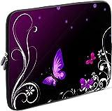 Sidorenko Tablet PC Tasche für 10-10.1 Zoll | Universal Tablet Schutzhülle | Hülle Sleeve Case Etui aus Neopren, Violett