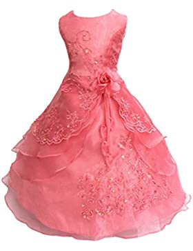 Mädchen Prinzessin Kleid Blumenm