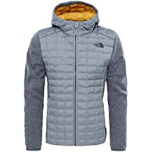 North Face M THERMOBALL GORDON LYONS HOODIE - Sudadera , Hombre , Gris - (MONUMENT GREY)