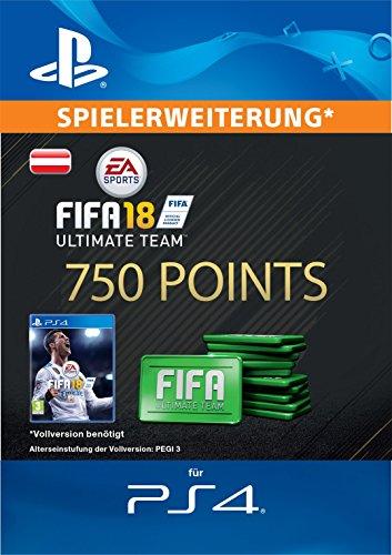 FIFA 18 Ultimate Team - 750 FIFA Points | PS4 Download Code - österreichisches Konto