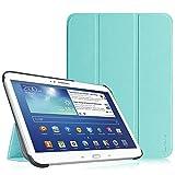 Fintie Samsung Galaxy Tab 3 10.1 Funda - Ultra Slim Smart Case Funda Carcasa con Stand Función y Auto-Sueño / Estela para Samsung Galaxy Tab 3 10.1 pulgadas P5200 / P5210 (Azul)