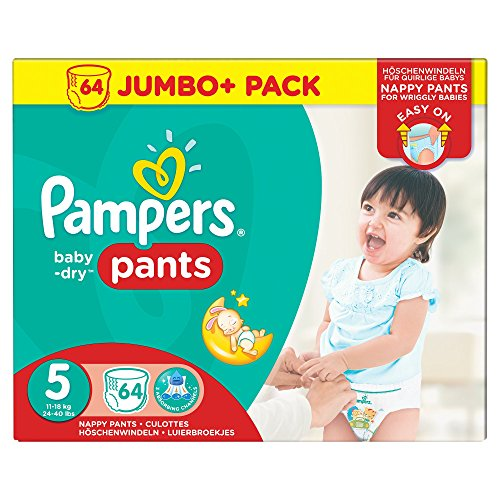 pampers baby dry pants couches culottes taille 5 12. Black Bedroom Furniture Sets. Home Design Ideas