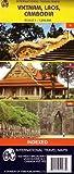 carte routi?re vietnam laos cambodge