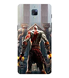 For OnePlus 3T Cartoon, Black, Cartoon and Animation, Printed Designer Back Case Cover By CHAPLOOS