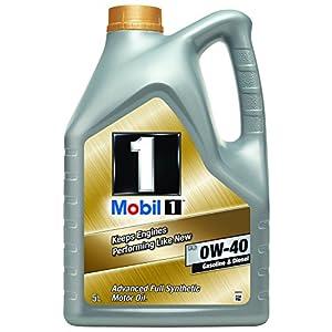 Mobil 1153678Huile moteur synthétique FS 0W40, Gold, 5litres pas cher