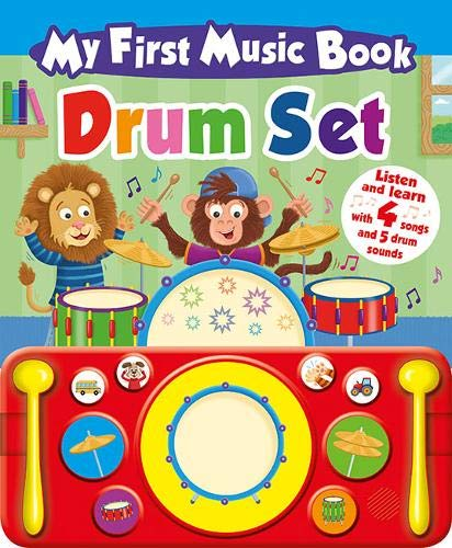 My First Music Book: Drum Set (Drum Book)