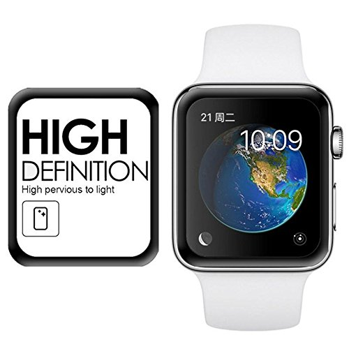 Helix 5D for Apple iWatch 42mm Smart Watch - Black