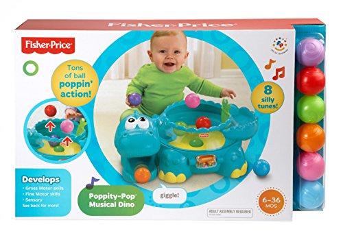 Imagen 4 de Fisher-price Go Baby Go Poppity Pop Musical Dino