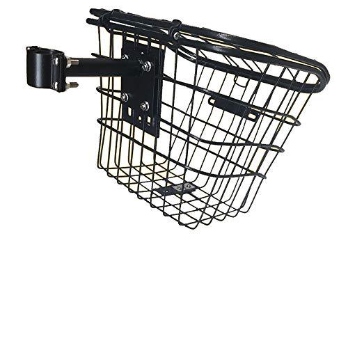 XULONG Elektroroller für Erwachsene, Korb, Edelstahl, 33X28x27cm, Geeignet für Elektroroller, Fahrräder, Falträder