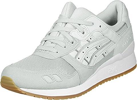 ASICS Mid Grau/Glacier Grau Gel-Lyte III Sneakers-UK