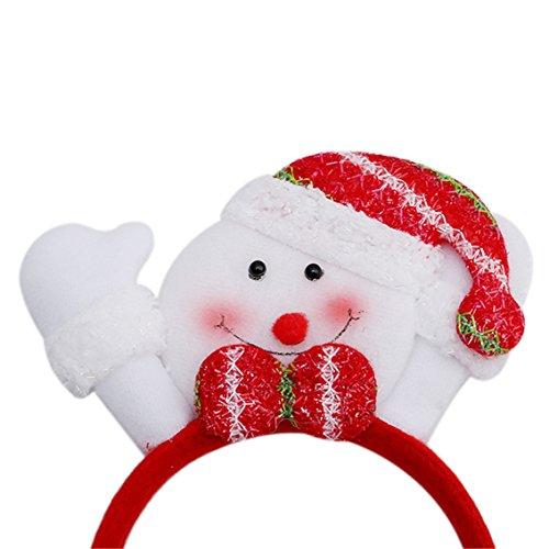 Haarreif Rot Schneemann Weihnacht Kostüm Zubehör Geschenk (Erwachsenes Schneemann Kostüme)