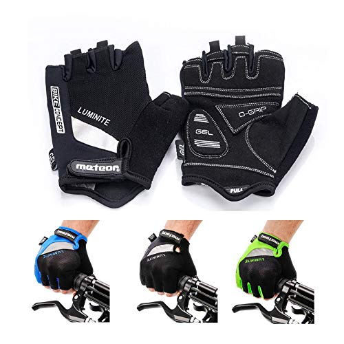 Meteor Guantes Ciclismo Mujer Hombre - Universal -