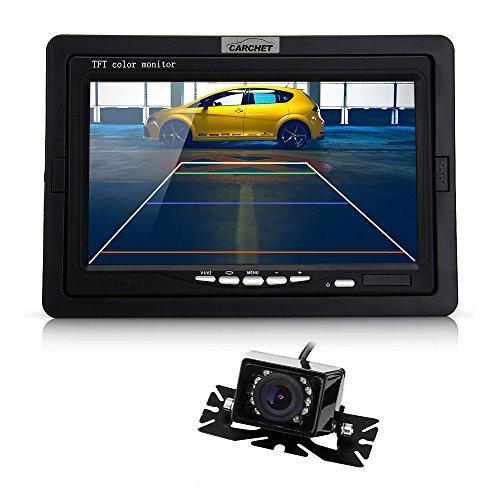CARCHET Pantalla Monitor TFT LCD 7 Pulgadas + Sistema de...