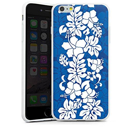 Apple iPhone X Silikon Hülle Case Schutzhülle Flower Muster Ornament Silikon Case weiß