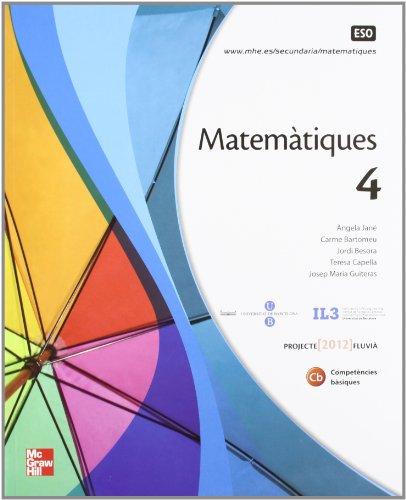 Matematiques 4 Eso - Ed.12 - por Jordi Besora Torredeflot