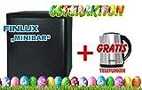 TELEFUNKEN 1003301mbcr 38ab thermoelektrische-Mini Bar, Plastica, Nero/Bianco, 41x 43x 51cm