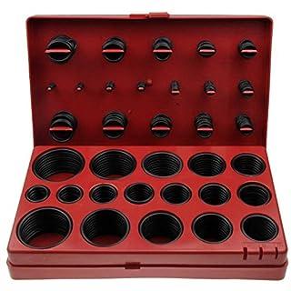 ALKAN - O-Ring dichtring Dichtung Sortiment ø 3-50 mm Spezial Öl,- Benzin,- und Säurebeständig 419 tlg. (im Aufbewahrungsbox/Sortimentsbox)