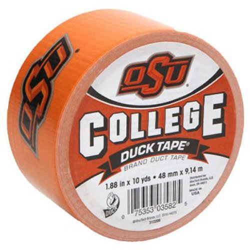State University Single (Duck Brand 240063 Oklahoma State University OSU College Logo Duct Tape, 1.88-Inch by 10 Yards, Single Roll by ShurTech Brands, LLC (English Manual))
