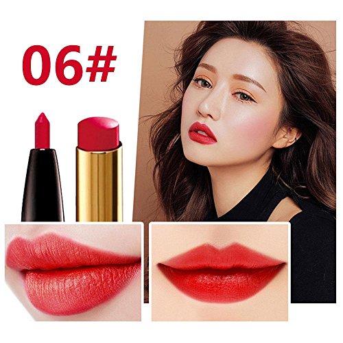8 Farben 2 In 1 Double-End Multifunktions Drehen Lippenstift Wasserdichte Lip Liner + Lipstick,Make-Up Bleistift Konturenstifte Lippenkonturenstifte Langhaltender Matt Moisturizing Lippenstift