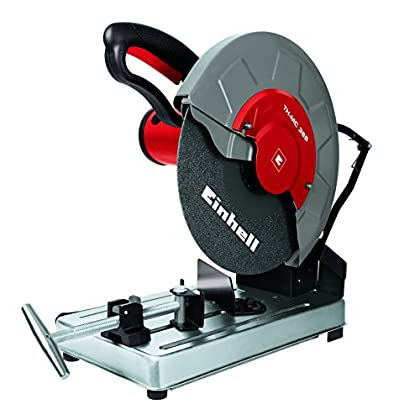 Einhell TH-MC 355 - Tronzadora (potencia 2000 W, 3000 rpm, diámetro disco: 355 x 25,4 mm) color gris y rojo