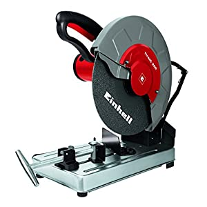 Einhell TH-MC 355 – Tronzadora (potencia 2000 W, 3000 rpm, diámetro disco: 355 x 25,4 mm) color gris y rojo