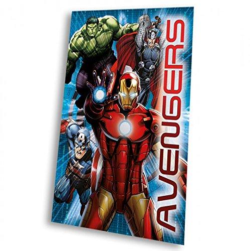 Marvel MV92186150x 100cm Avengers Polar-Fleecedecke -