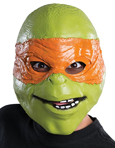 Michelangelo Film Maske, Kinder Teenage Mutant Ninja Turtle Kostüm ()