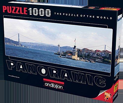 Anatolian Puzzle 1000 Piece Maidens Tower Bosphorus Bridge Panoramic