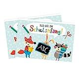 2er Set Grußkarten zum Schulanfang von Nastja Holtfreter