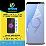 nzon Compatible for Samsung Galaxy S9 Plus Screen Protector Film (Front Screen Protector Clear)