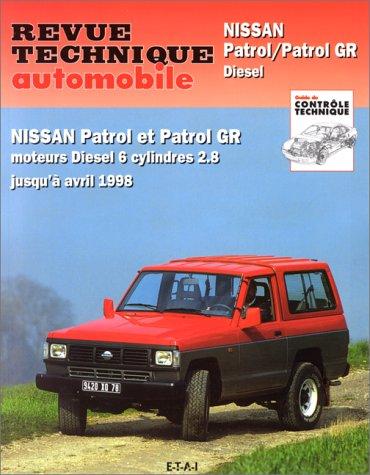 Revue technique automobile, numéro 541.2: Nissan patrol et patrol GR (89/98)