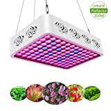 TOPLANET Reflektor 300W LED Pflanzenlampe Grow Light...
