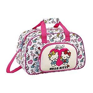 51AQMORJbIL. SS300  - Hello Kitty Bolsa de deporte, Bolso de viaje