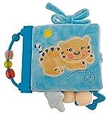 Bieco 17000070 Baby Activity Spiel und Lernbuch Mia, circa 22 cm, blau