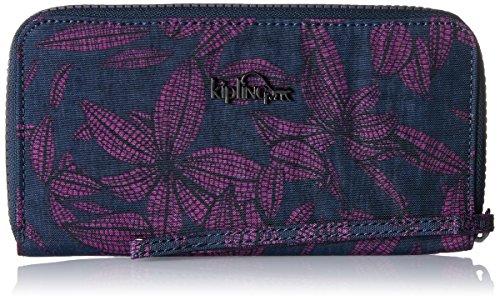 Kipling Alia, Portefeuilles femme, Mehrfarbig (Orchid Bloom), 19x10x2 cm (B x H T)