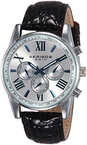 51AQNy2xbEL - AK864SS Akribos XXIV Silver Mens watch