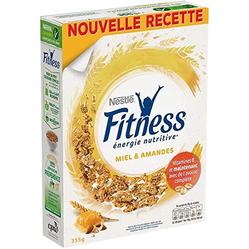 Fitness - Céréales Miel Et Amandes 355G - Lot De 4 - Prix Du Lot - Livraison Rapide En France Métropolitaine Sous 3 Jours Ouverts