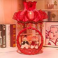 JIA&YOU Presa di fabbrica di ferro fumetto festivo creativo lampada da comodino 15 * 26 * 50 cm lampada camera da letto
