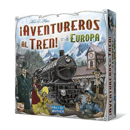 Comprar Days of Wonder- Juego De Tablero, Color no, Talla Unica (Edge Entertainment LFCABI127)