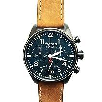 Alpina Herren-Armbanduhr AL-372N4FBS6