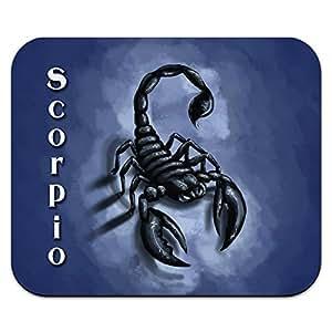 Scorpio zodiaque–Scorpion–Signe astrologique astrologie Mouse Pad Tapis de souris