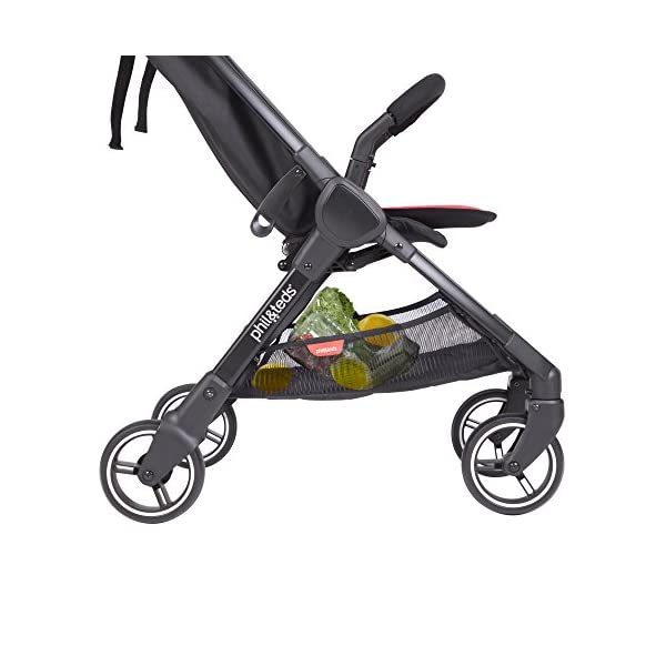 Phil & Teds Go V1, Buggy, Pushchair-Lemon phil&teds Package Included: 1Phil & Teds go pushchair Lemon Includes removable front strap With Seat Cushion 2