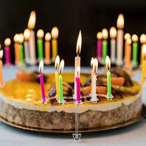 Cadeau Maestro Plateau Et Bougies d'anniversaire