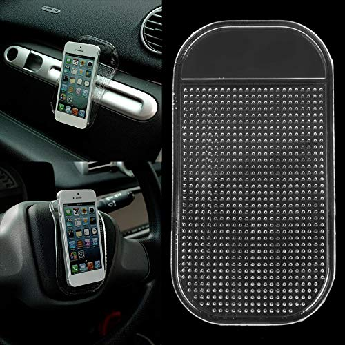 liekas Silicone Anti-Slip Non-Slip Mat Car Dashboard Sticky Pad Mount Holder for Cell Phone Vehicle GPS Holder Interior Accessories