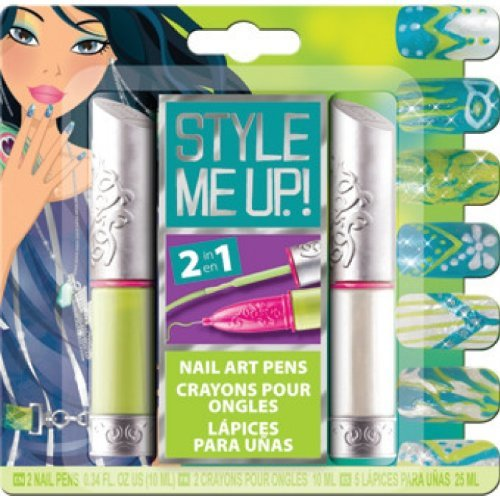 Wooky 01603 - Style Me Up Perfect Nail Art Pen 2, Schmuck