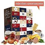 Frühstück Adventskalender I Weihnachtskalender mit 24 Frühstücks-Überraschungen für jeden Morgen.