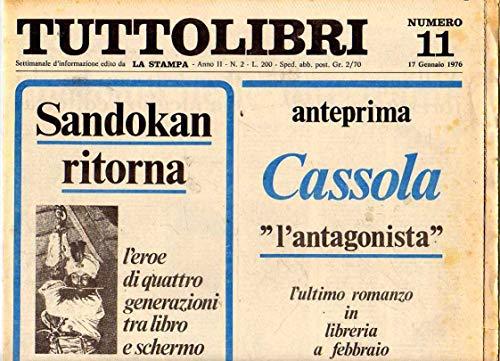 Tuttolibri n. 11 del Gennaio 1976 Cassola, Arbasino, Campanile