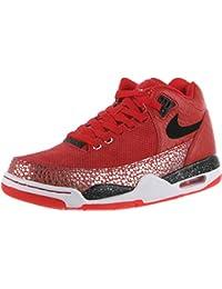 Zapatillas De Baloncesto Nike Flight Squad Qs Para Hombre 679260-600_10.5 - University Red / Black-Metallic Silver 1lWaiouDG