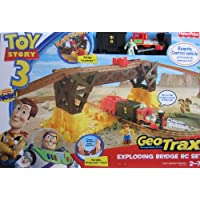 Fisher-Price Disney Pixar Toy Story 3 GeoTrax Exploding Bridge Remote Control Train Set - Compare prices on radiocontrollers.eu
